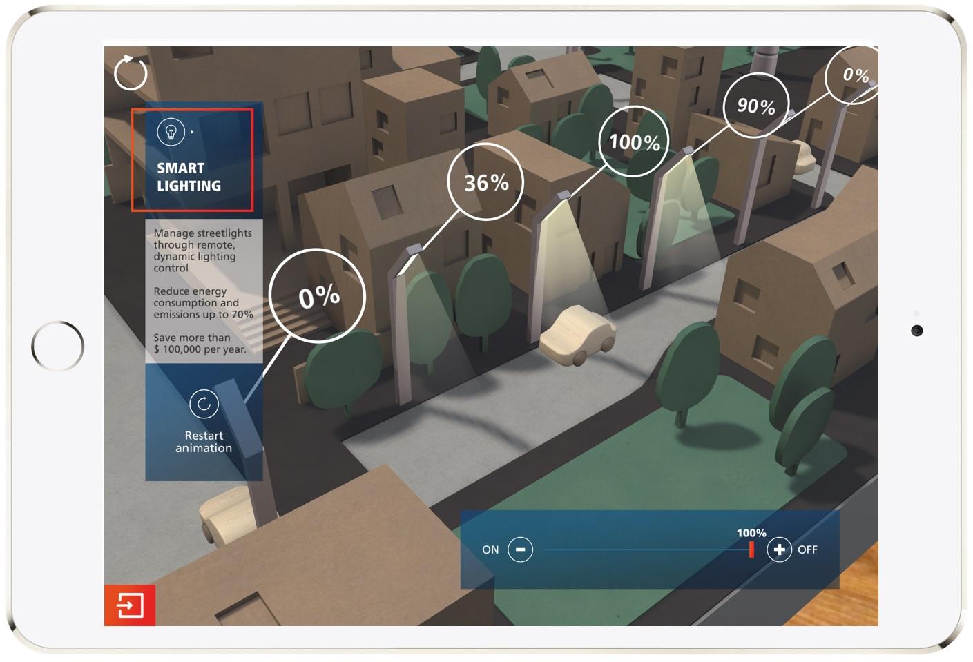 AR Smart City: screenshot
